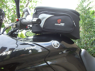 SW Motech quiclock tankbag Trial