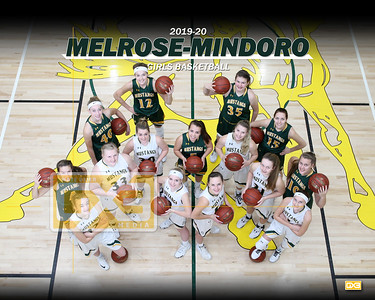 Melrose-Mindoro girls basketball GBB1920