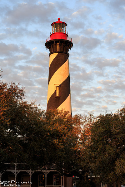 St. Augustine Light House at dawn