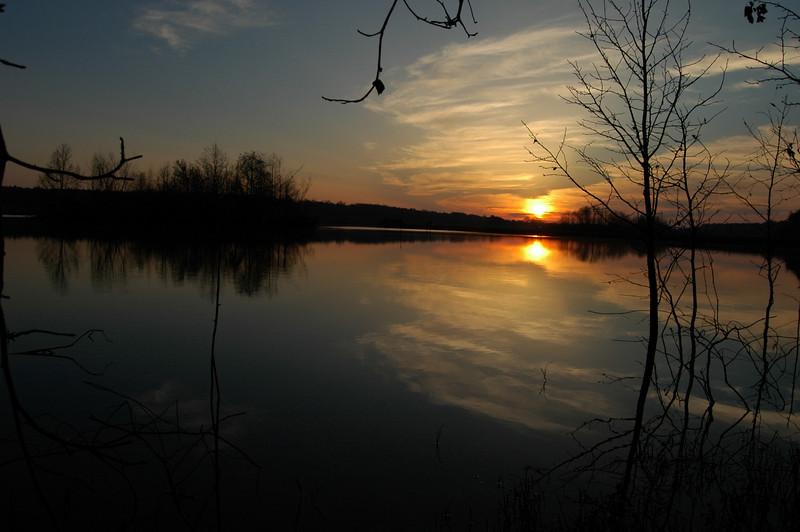 Lake Piney Z sunrise