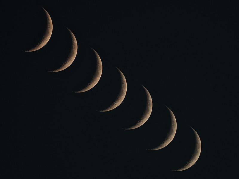 Waxing Crescent Composite