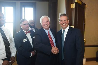 Gov. Bill Lee celebrates 100 day in office at Belmont