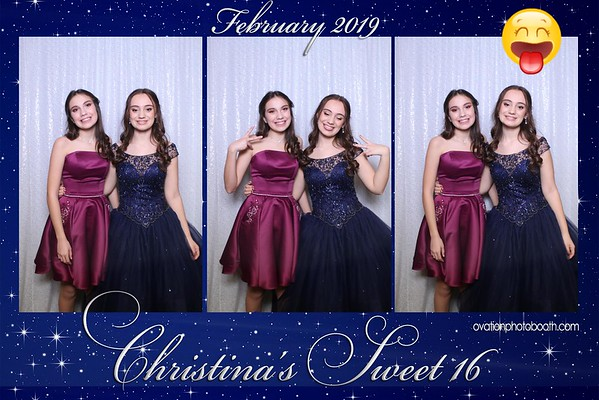 Christina's Sweet 16 - February 2019