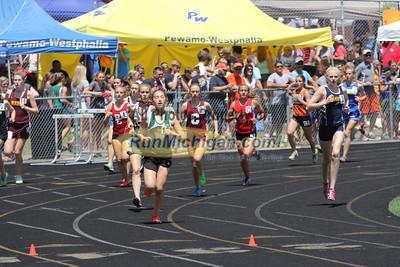 D3 Girls' 1600 Meter Finals - 2014 MHSAA LP T&F Finals