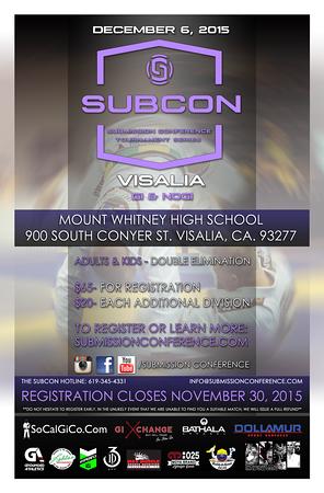 SUBCON Six - Visalia