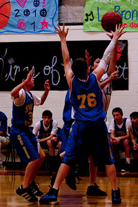 Mar 8 - 7th Gr Boys Basketball vs SEAS