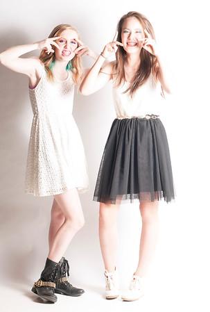Annika & Tia Dress Up - 11/10/14