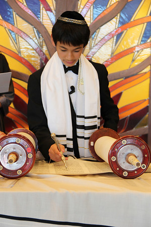 Max & Joseph Bar Mitzvah Ceremony