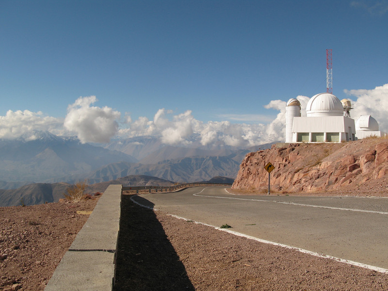 The 1.5m telescope with fewer clouds