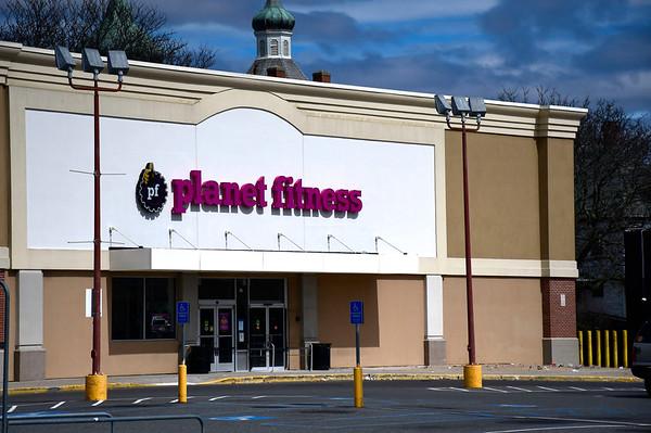 4/2/2020 Mike Orazzi | Staff Planet Fitness in the New Brite Plaza in New Britain.