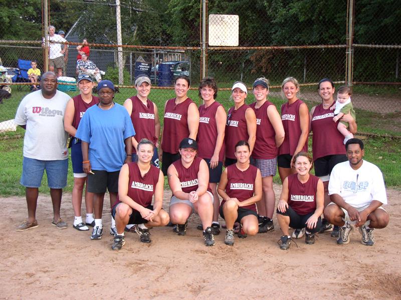 2003-08-19 Amberjacks Softball Team