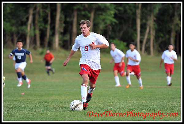 Soccer - Ocean Boys Varsity vs Freehold  Sept 2012
