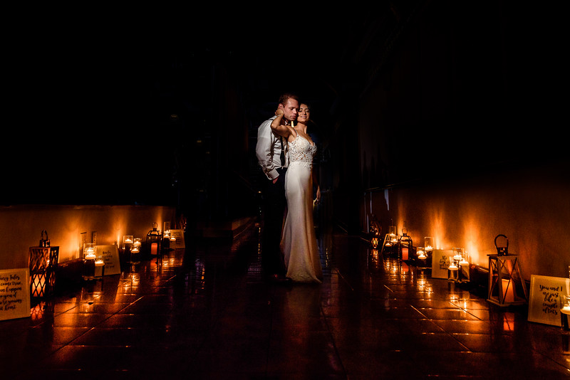 Joanna & Rob's Wedding - The Lighthouse at Chelsea Piers