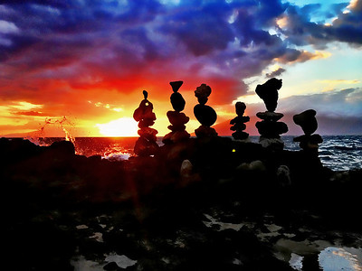 A Collection of Rock Balances