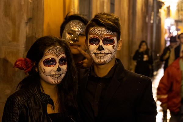 Halloween Trick or Treat in Jardin, October 31