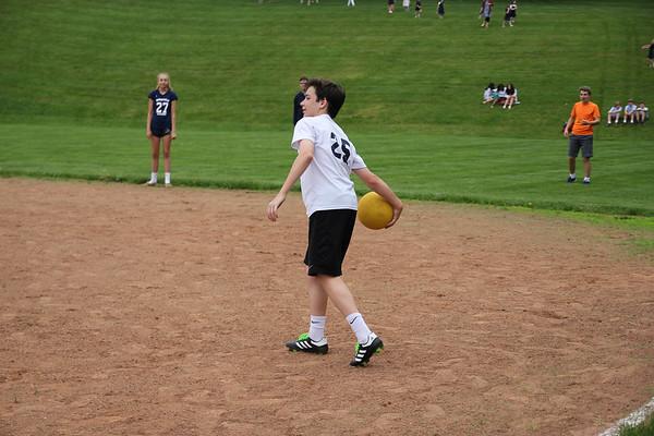 8th Grade vs. Staff/Faculty Kickball
