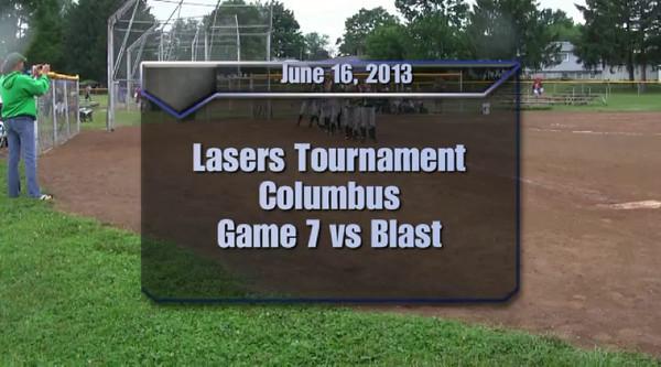 Lasers Tournament Game 7 vs Blast