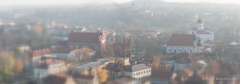 Gediminas Tower Panoramas