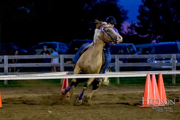 10. Raised Box Keyhole Ponies  Jr. Rider