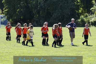 2008 fall Girls Soccer