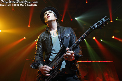 Avenged Sevenfold <br> June 22, 2012 <br> Mohegan Sun Arena - Uncasville, CT <br> Photos by: Mary Ouellette