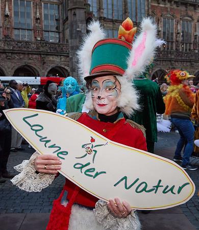 Bremer Karneval 2019 - Laune der Natur