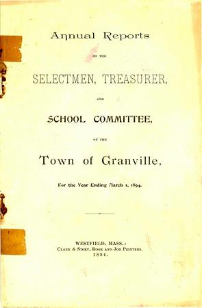 1894 Granville Annual Report