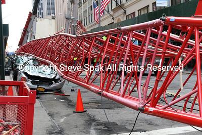 February 05, 2016 - Manhattan Crane Collapse
