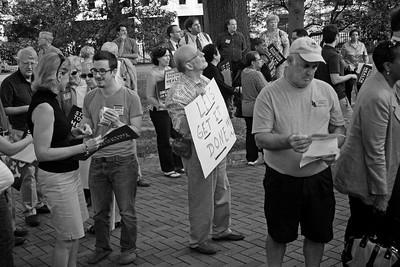 Health Care Rally -- Richmond, VA 9-1-09