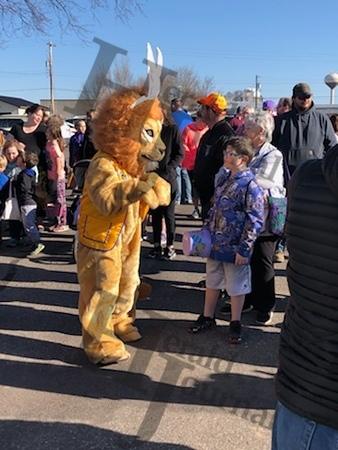 Lester Prairie Easter egg hunt 2019
