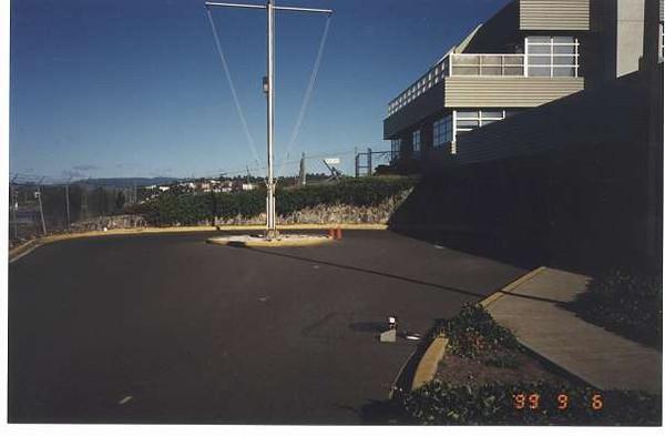 Royal Victoria Marathon Landmarks - 1999 Course - 8 km - HMCS Malahat
