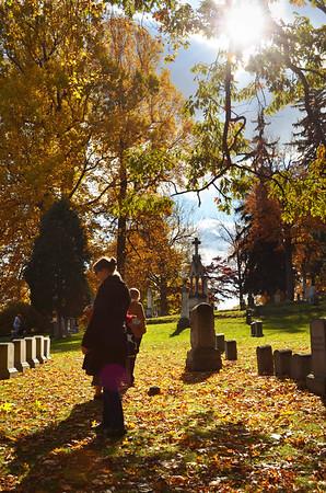 Cemetery Meanderings