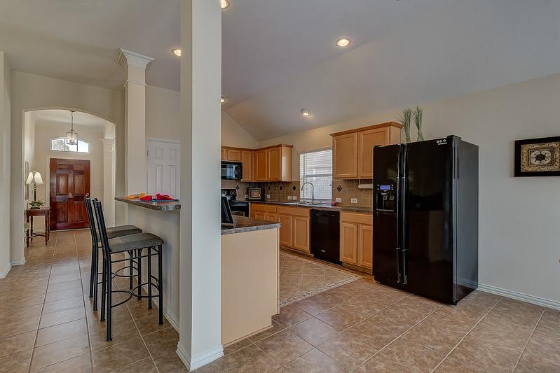 Entry & Kitchen