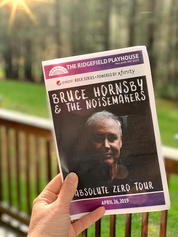 Bruce Hornsby concert book