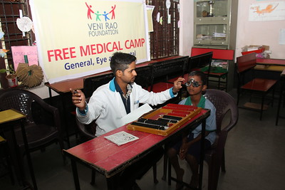 Medical Camp conducted at all government schools