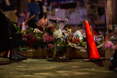 George Floyd Memorial at Cup Foods in Minneapolis, June 2