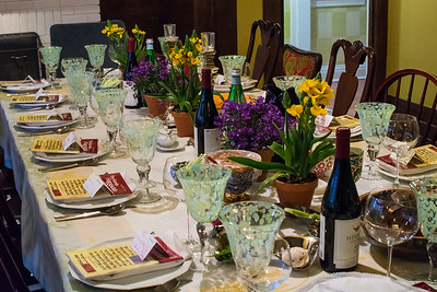 Bonnie's Passover Table