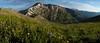 Panorama from Cinnamon Mountain, CO