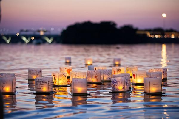 DC lantern sunset