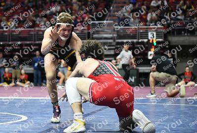 2020 State Wrestling: 2A Quarterfinals
