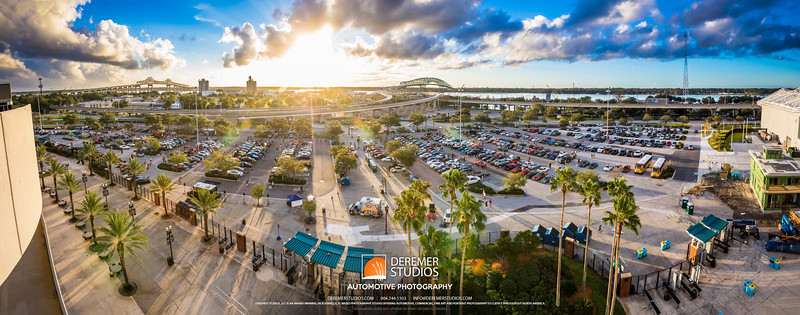 PANO 2017 10 Cars and Coffee - Everbank Field 115A - Deremer Studios LLC
