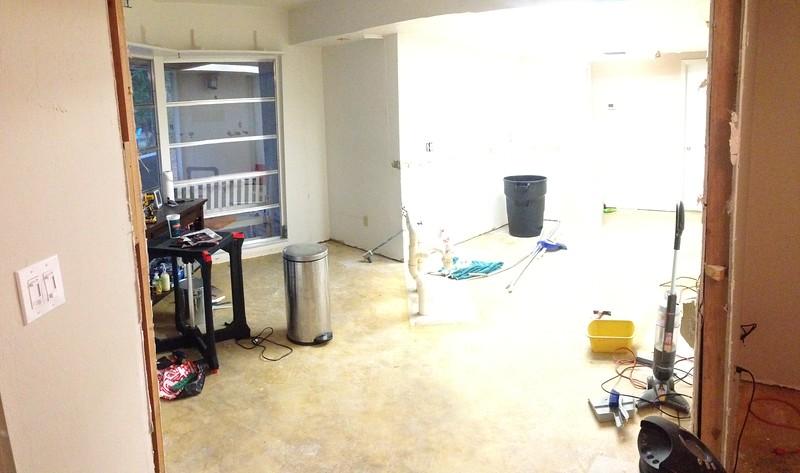Kitchen Tear Down