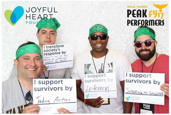 Peak Performance FY17 - Joyful Heart Foundation