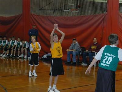2005 Feb Brennan's Basketball Game