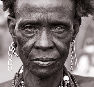 Portraits from the Omo Valley (Ethiopia)