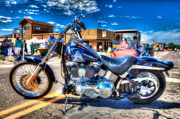 Best of Show Motorcycle - Tami Cotton