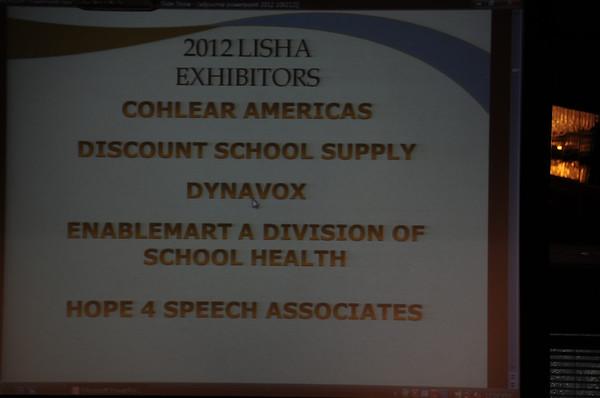 LISHA 2012