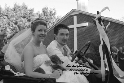 Carrie and David Wed Today Congrats! God Bless