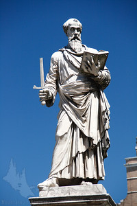 Statue of Paul in St. Peter's square