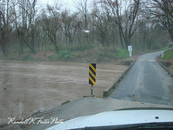 Wilson's Creek High Water 12-11-08